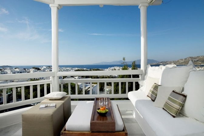 Belvedere Hotel in Mykonos new member at the Leading Hotels of the World