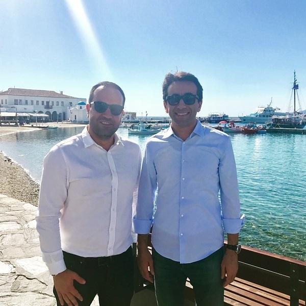 Συνάντηση Κωνσταντίνου Kουκά με τον Κυβερνήτη της Βυρηττού Ziad Chebib.