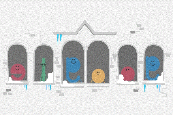 «Καλές γιορτές» εύχεται η Google με το σημερινό της doodle!! (Video)