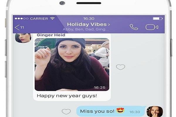 Viber: Νέα λειτουργία Instant Video Message και Chat extensions