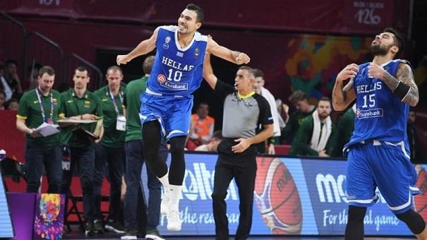 Λιθουανία - Ελλάδα 64-77 και στους «8» του Eurobasket