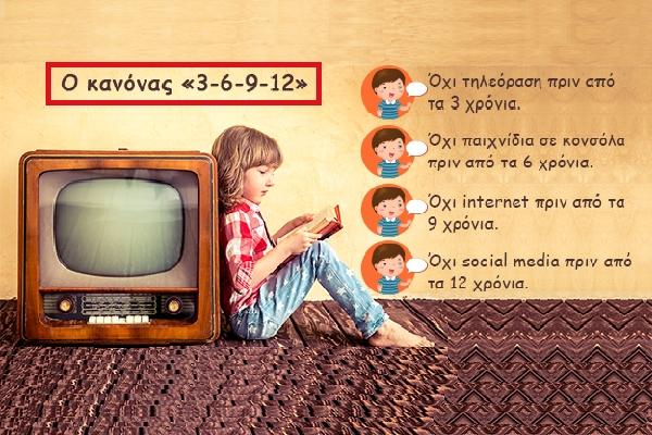 Ο κανόνας «3-6-9-12» για τα παιδιά και την οθόνη – Μια συνέντευξη με τον γνωστό γάλλο ψυχαναλυτή Serge Tisseron