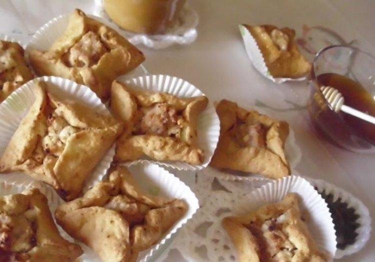 Τσιμπιτά Αστεράκια με φρέσκο Μυκονιάτικο τυρί!! (βήμα-βήμα)