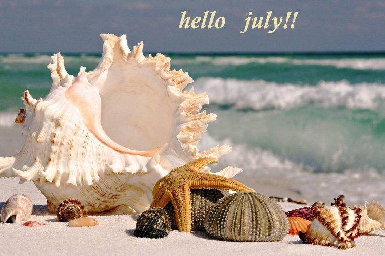 Καλό Μήνα, Ιούλιο!!!!!!