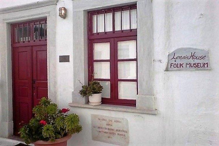 """Ενημέρωση για την λειτουργία του παραρτήματος του Λαγραφικού Μουσείου Μυκόνου το """"Σπίτι της Λένας"""""""