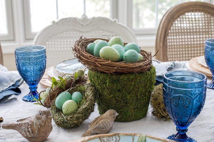 40 Ιδέες Πασχαλινής διακόσμησης με αυγά αληθινά!!