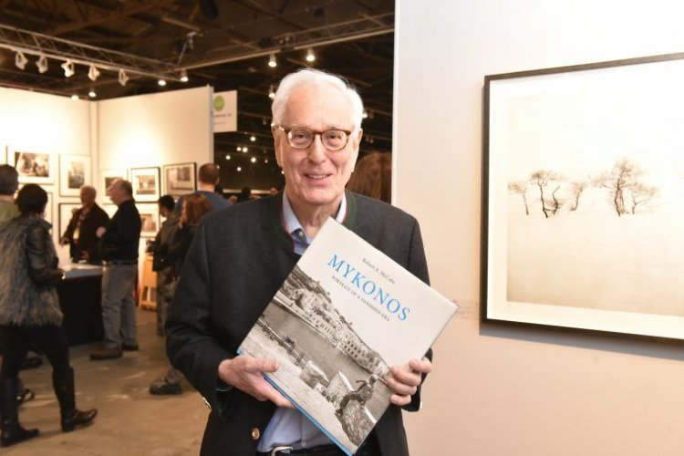 Robert McCabe's Mykonos Book Signing at The Photography Show