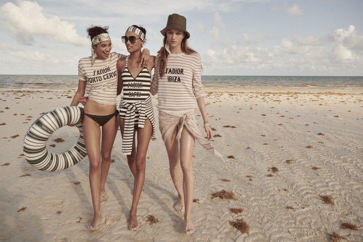 """Μύκονος Dior beachwear!! Ανέμελος Ρομαντισμός & Αέρινες Γραμμές!! Νέα beachwear συλλογή """"Dioriviera"""" Fall 2019!! (Video)"""