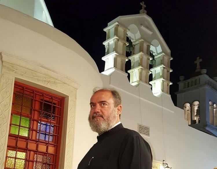 Ο Αρχιερατικός Επίτροπος Μυκόνου π. Πέτρος Μαραγκός απαντά στην Ιταμή Αξίωση και στην παραληρηματική επίθεση Γκέλου στην τοπική Εκκλησία