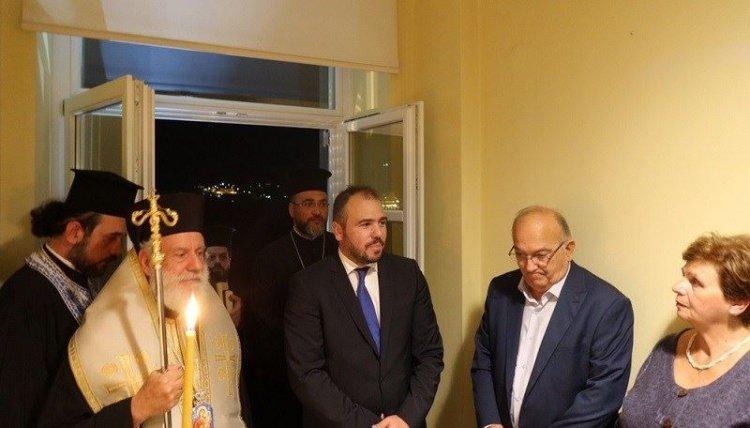 Εγκαινιάσθηκε το νέο πολιτικό γραφείο του Φίλιππου Φόρτωμα στην Ερμούπολη Σύρου