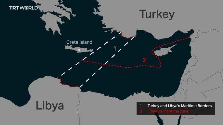 Άκυρη η συμφωνία Τουρκίας – Λιβύης, λέει η Ευρωπαϊκή Ενωση