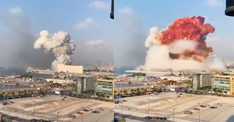 Beirut explosion - Βηρυτός: Εκρήξεις σε αποθήκες βεγγαλικών - Τουλάχιστον 10 νεκροί