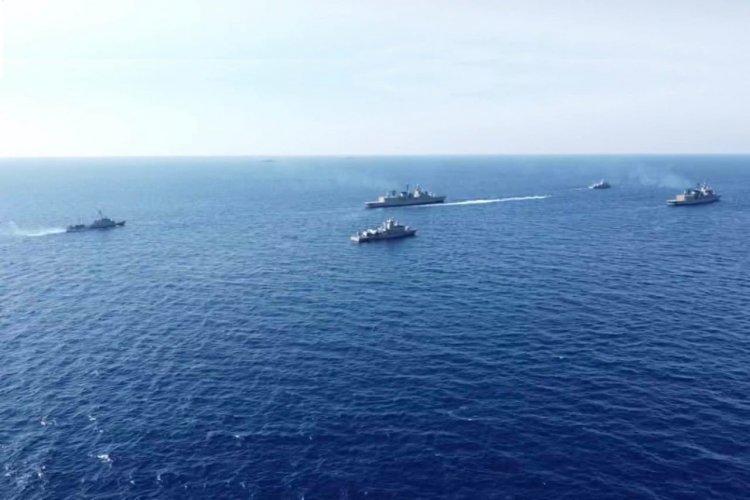 Turkish Aggression: Σε διάταξη μάχης ο Ελληνικός στόλος στο Καστελόριζο απέναντι στο Oruc Reis και τη «συνοδεία» του [Photos]