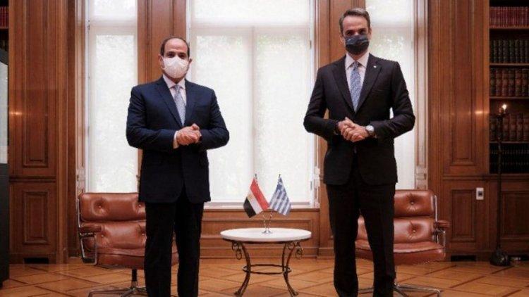 Mitsotakis - Trilateral cooperation: Παράδειγμα ειρήνης και συνεργασίας η εμβληματική συμφωνία Ελλάδας-Αιγύπτου για τις θαλάσσιες ζώνες