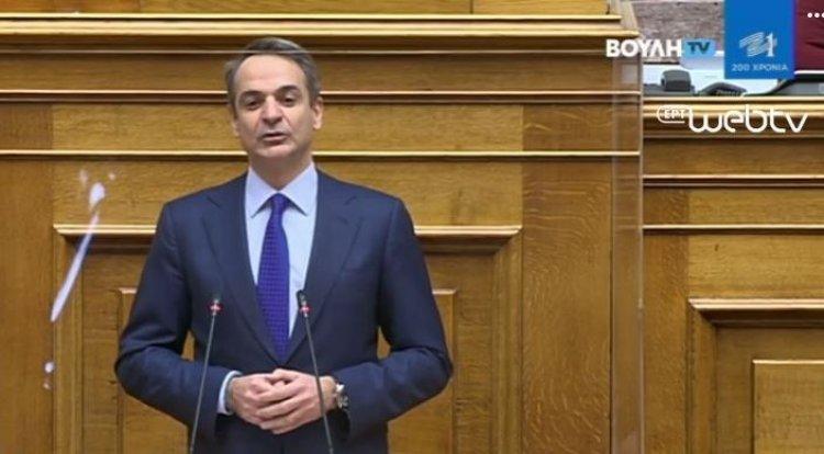 PM Mitsotakis: Το νομοσχέδιο μήνυμα ότι η δημοκρατία λειτουργεί παντού