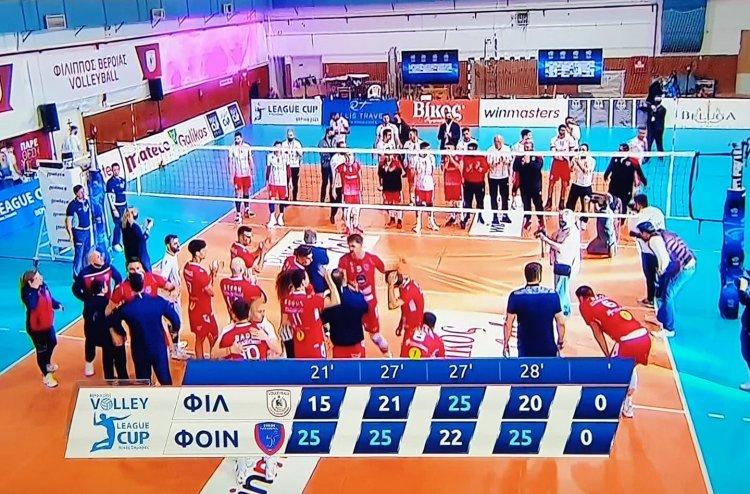 Volleyball League Cup: «Μπλόκαρε» τον Φίλιππο και πήρε το Λιγκ Καπ ο Φοίνικας Σύρου!