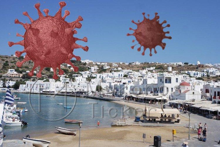 Coronavirus Disease:1.400 νέα περιστατικά μόλυνσης, τα 2 στην Μύκονο – 816 νοσηλεύονται διασωληνωμένοι, 57 νέοι θάνατοι