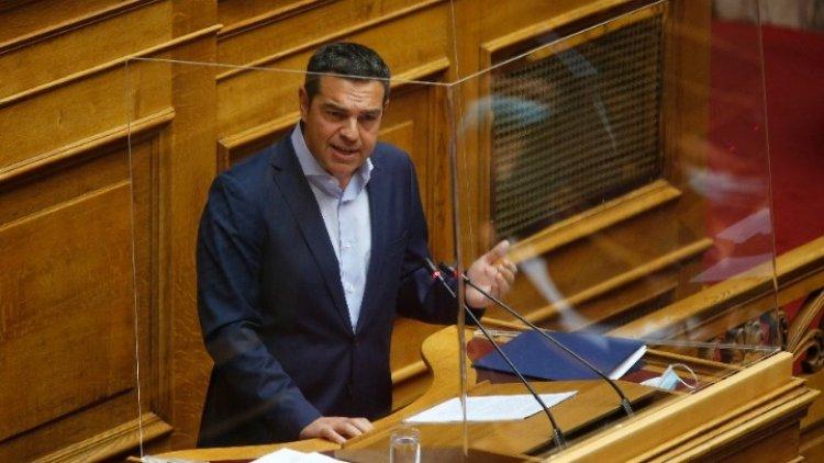 SYRIZA leader Alexis Tsipras : «Κακοποιητής της δημοκρατίας» η κυβέρνηση του κ. Μητσοτάκη