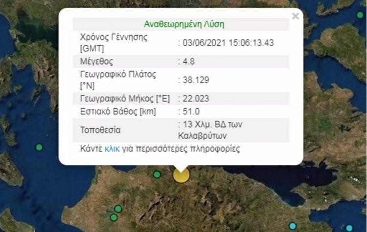 Earthquake in Aigio: Σεισμός στο Αίγιο – Αισθητός και στην Αττική