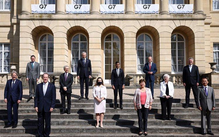 G-7 on global tax reform: Ιστορική συμφωνία για την επιβολή παγκόσμιου ελάχιστου εταιρικού φόρου 15%