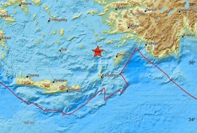 Earthquake in Nisyros:Σεισμός 4 Ρίχτερ στην Νίσυρο
