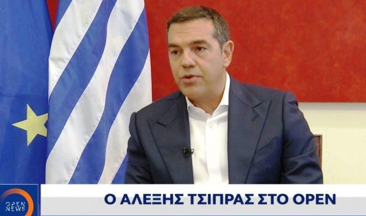 Alexis Tsipras - OPEN TV: Ο Μητσοτάκης σε vertigo – Η κυβέρνηση σε αποδρομή