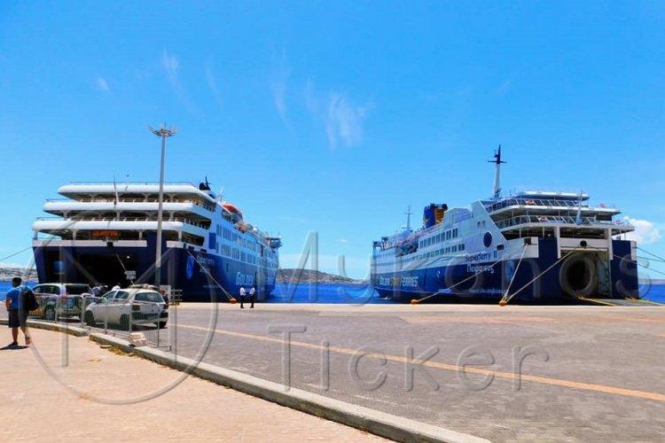 Ferry Routes: Δεμένα τα πλοία στα λιμάνια λόγω ισχυρών ανέμων - Ποια δρομολόγια δεν εκτελούνται