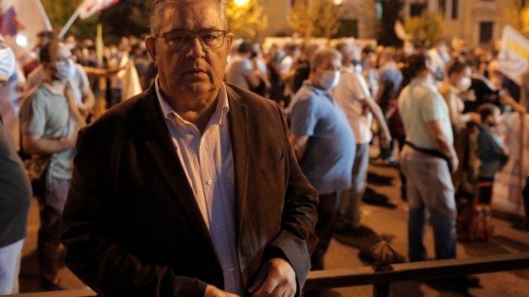 Communist Party - Δ. Κουτσούμπας: Η ελληνική κυβέρνηση φέρει τεράστιες ευθύνες που οδηγεί τον λαό σε πολεμικούς σχεδιασμούς