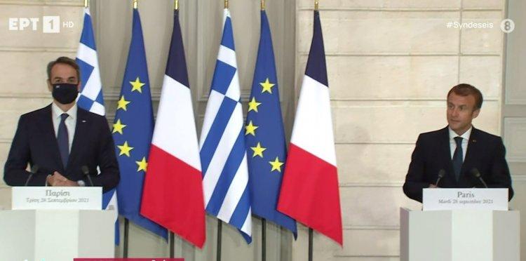Mitsotakis- defense agreement: Ιστορική ημέρα για Ελλάδα και Γαλλία – Συμφωνία για τις τρεις φρεγάτες Belharra