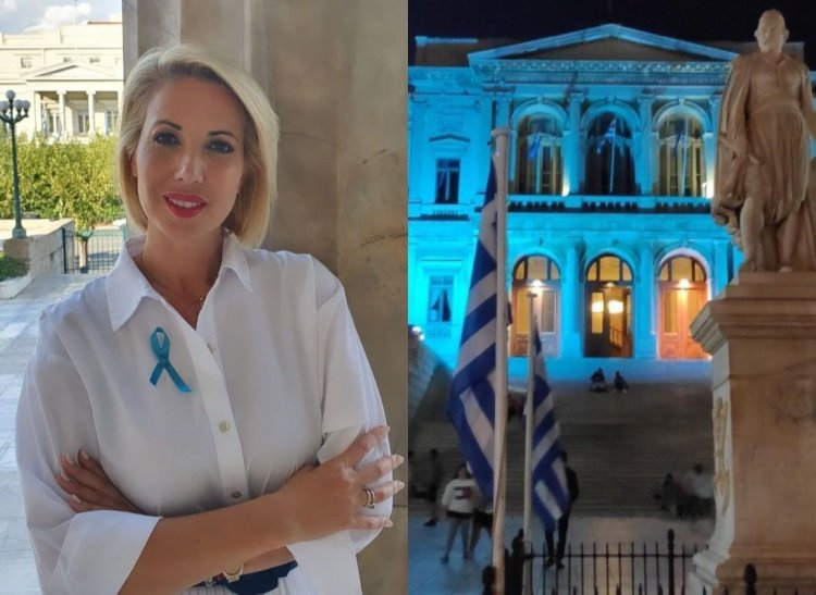 #EDAdyslexiaday: Με πρωτοβουλία της Κατερίνας Μονογυιού φωταγωγούνται 17 Δήμοι με σκοπό την ευαισθητοποίηση για τη δυσλεξία