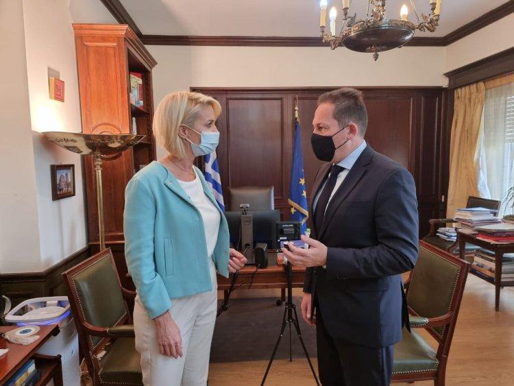 MP Katerina Monogiou: Οι συνεχείς προσπάθειες της Κατερίνας Μονογυιού για το πρόγραμμα «Αντώνης Τρίτσης» εξασφαλίζουν χρηματοδοτήσεις για έργα στις Κυκλάδες