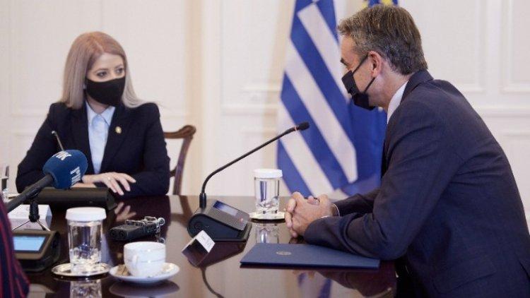 PM Mitsotakis: Προτεραιότητα ο τερματισμός της τουρκικής κατοχής στην Κύπρο και η λύση Διζωνικής, Δικοινοτικής Ομοσπονδίας
