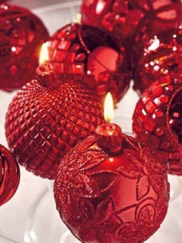 , 60 Προτάσεις Διακόσμησης για Red Christmas…..