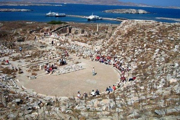 , Η Όπερα «ΗΡΑ» του συνθέτη Πλάτωνα Ανδριτσάκη στο Αρχαίο Θέατρο της Δήλου