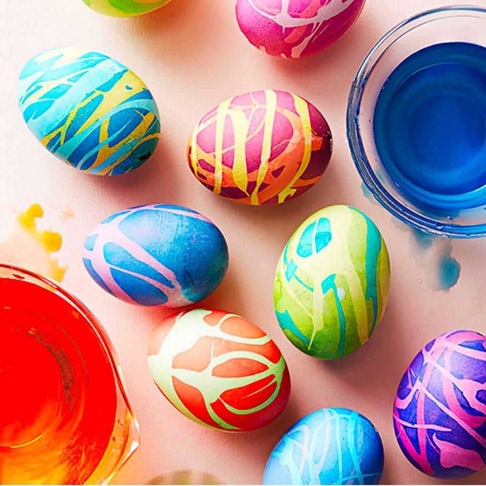 , Βάψτε αυγά με υλικά που υπάρχουν στην κουζίνα σας!! Πειραματιστείτε!! Έχει πλάκα!!