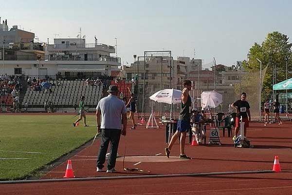 , Την έκτη και έβδομη θέση κατέλαβαν οι Ναουμένκο και Ντούλας στο Πανελλήνιο πρωτάθλημα Παίδων