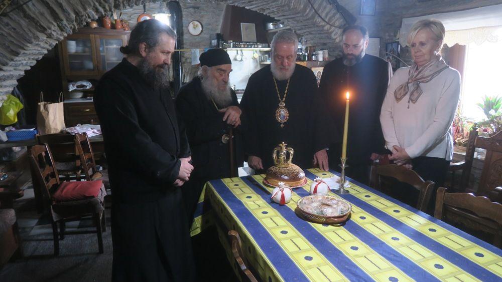 , Επίσκεψη Σεβασμιωτάτου Δωροθέου Β΄ τις ιστορικές Ιερές Μονές της Άνδρου