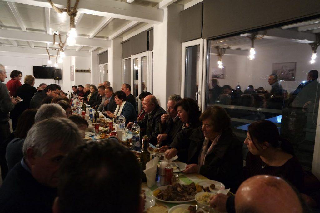 , Πανηγυρικός εόρτιος εσπερινός του Αγίου Αντωνίου στο «Anixi Hotel», στον Κόρφο Μυκόνου