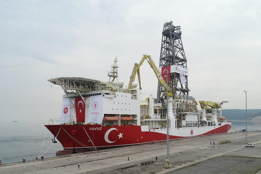 """, Δεύτερο πλωτό Τουρκικό γεωτρύπανο το """"Yavuz"""", πλέει για την Κυπριακή ΑΟΖ, συνοδευόμενο από δύο Τουρκικές φρεγάτες"""