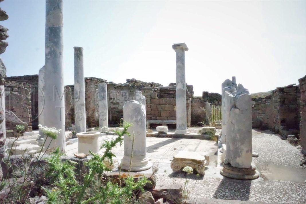 , Η Θαλάσσια και η Αιολική Διάβρωση απειλούν τα μνημεία της Δήλου