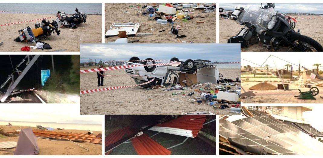 , Χαλκιδική: Εικόνες αποκάλυψης με 6 νεκρούς, δεκάδες τραυματίες, ανυπολόγιστες καταστροφές (Videos)