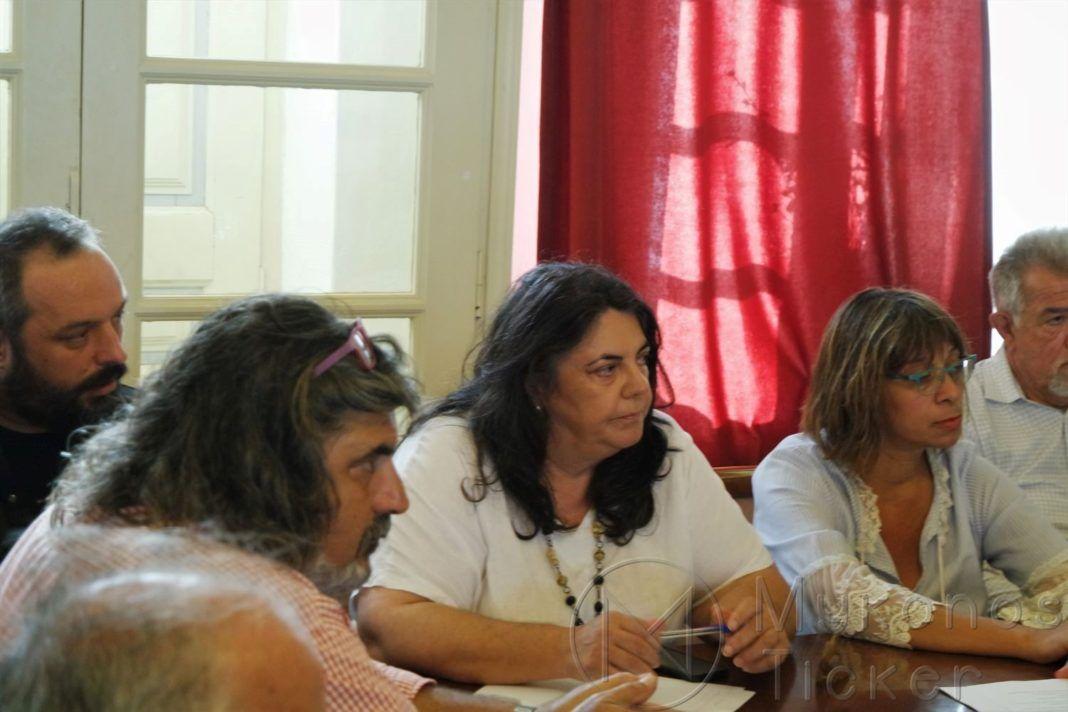 , Χαιρετισμός Ντίνας Σαμψούνη στις δημαιρεσίες του νέου Δημοτικού Συμβουλίου Μυκόνου (video)