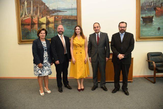 , Συνάντηση ΥΝΑΝΠ Γιάννη Πλακιωτάκη με εκπροσώπους της Διεθνούς Ένωσης Εταιριών Κρουαζιέρας (CLIA)