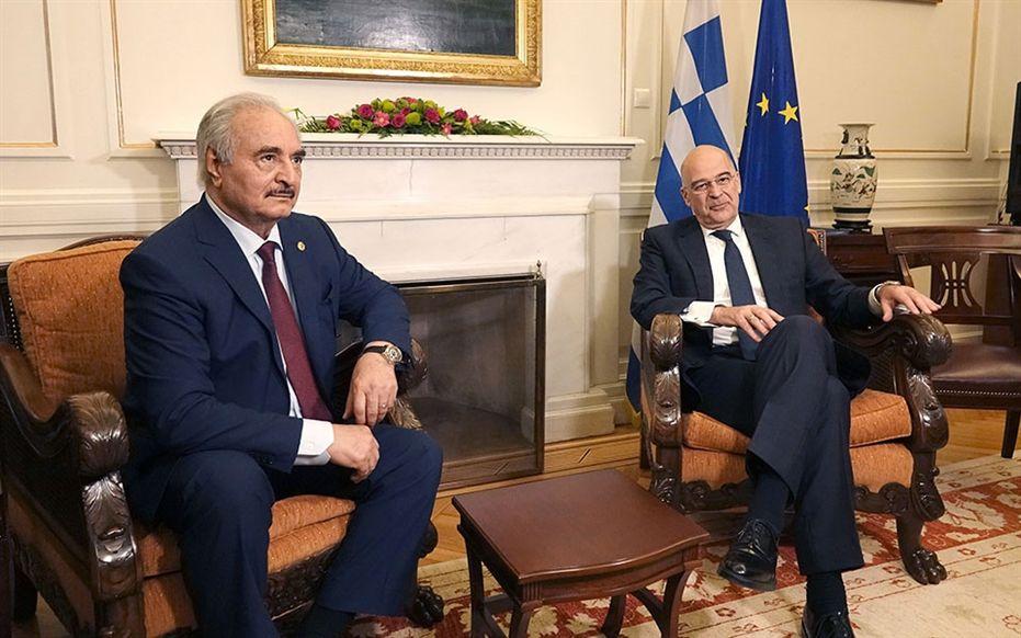 , Ν. Δένδιας: Ο Χάφταρ σύμφωνος με όλες τις παρατηρήσεις της Ελλάδος – Ετοιμοι να βοηθήσουμε την επόμενη μέρα στη Λιβύη