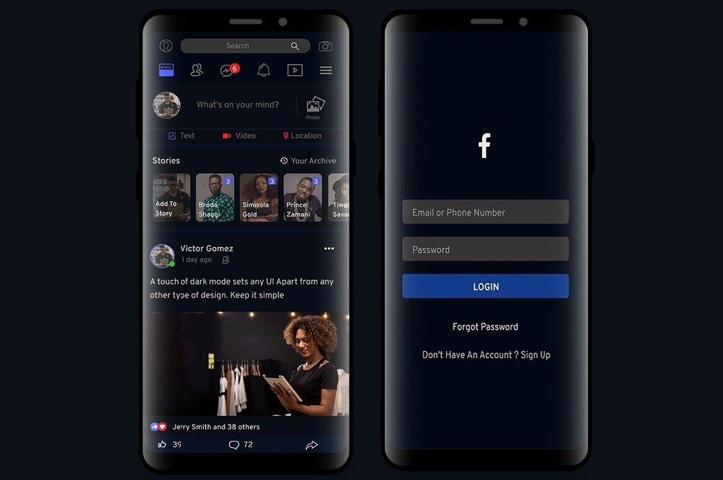 , Dark Mode: Η νέα εμφάνιση του Facebook έφτασε και στην Ελλάδα & Πότε θα «βγει» στον αέρα!!