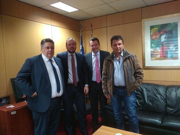 , Συνάντηση Φίλιππου Φόρτωμα με τον Διοικητή της 2ης ΔΥΠΕ Χρ. Ροϊλό για την βελτίωση των Κέντρων Υγείας Μήλου και Άνδρου
