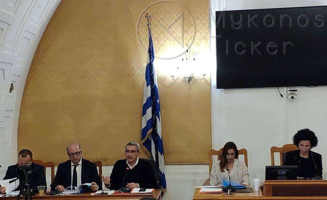 """, Η Προγραμματική Σύμβαση για την """"Αποκατάσταση ΧΑ∆Α Μυκόνου"""" στην συνεδρίαση του Περιφερειακού Συμβουλίου Νοτίου Αιγαίου"""