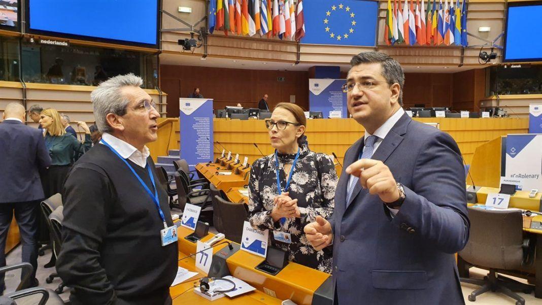 , Ο Γιώργος Χατζημάρκος ορίστηκε μέλος των Επιτροπών CIVEX και ΝΑΤ που πραγματεύονται κρίσιμα ζητήματα των ευρωπαϊκών νησιών