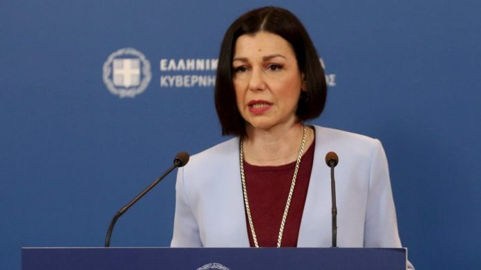 Government Spokesperson A. Peloni: No student parades March 25 - Only the  military in Athens | Mykonos Ticker